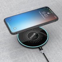 Carregador Sem Fio Wireless Qi Indução Para Samsung iPhone - Hrebos