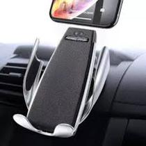 Carregador Sem Fio Wireless + Suporte Veicular Smart Sensor S5 - RTS