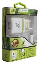 Carregador telefone celular- marca:x-cell mod.xc-v8-glx - ds tools -