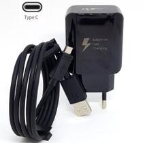 Carregador Tipo C Original 30w 9v Turbo 3.0 (preto) Compatível com Galaxy S8 - Sef Eletro