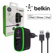 Carregador Tomada 2 Saida Cabo Usb iPhone 5s,6,6 plus Belkin
