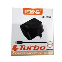 Carregador Tomada Turbo Qualcomm Lelong Le200