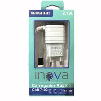 Carregador Turbo Iphone 4,5,6,7,8,X Ipad Ipod Original Inova