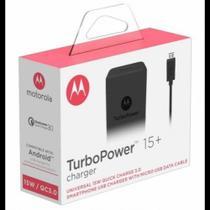 Carregador turbo power 15+ - Motorola