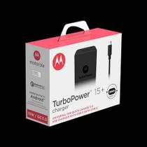 carregador turbo power Motorola 15w - entrada V8