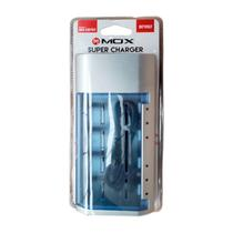 Carregador Universal De Pilhas Aa/aaa/c/d/Bat 9v Mox -