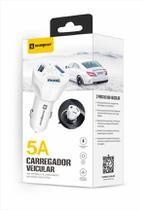 Carregador Veicular + Cabo Magnético Compativel com Celular Moto G5 G5S Plu - Sumexr