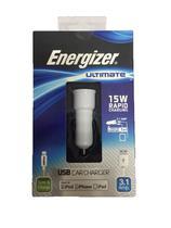 Carregador Veicular Energizer Branco -