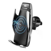 Carregador Veicular por Indução Sem Fio Wireless Suporte Automático com Sensor 10w Qi S5 - Smart Sensor