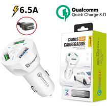 Carregador Veicular Turbo V8 Celular Samsung S6, Edge S7, Edge - Sumexr