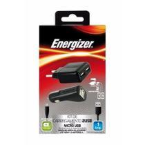 Carregador Veicular/viagem Lightning 2 Saídas - Micro Usb - Energizer
