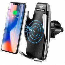 Carregador Veicular Wireless Qi Sem Fio Smart Sensor S5 - Aaa