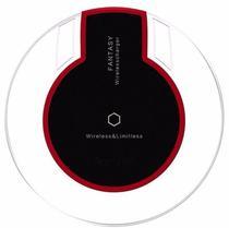 Carregador Wireless Inducao Sem Fio Qi Para Iphone IOS Celular Carga (AF-12/Fantasy) -