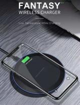 Carregador wireless preto (base de carregamento) - BLDUO