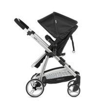 Carrinho 3 Em 1 Epic Lite Preto + Bebê Conforto Infanti -