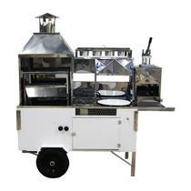 Carrinho 4 em 1 de Churrasco, Hot-Dog, Pastel e Batata Frita R2 -