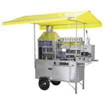 Carrinho 5 em 1 R2 Pastel, Lanche, Churrasco, Hot Dog e Batata -