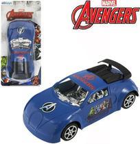 Carrinho Avengers Fricção 16cm - 129748 - Etilux