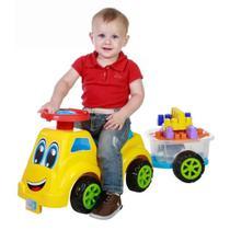 Carrinho Baby Ride Colorido Com Trailer 3060 - Maral -
