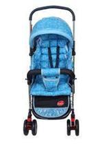 Carrinho Bebê Com Alça Reversível Azul - Dardara -