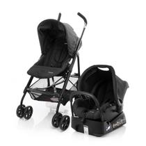 Carrinho Bebe Travel System Umbrella Trend Black Safety 1st