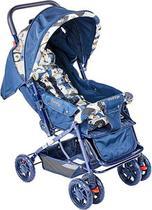 Carrinho Berço de Bebê Funny - Azul - Voyage -