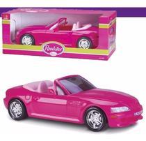 Carrinho Carro Conversível P/ Boneca Barbie - 46cm - Roma - Roma Brinquedos