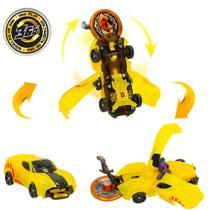 Carrinho com 2 Discos Screechers Wild Sparkbug DTC -