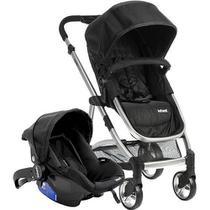 Carrinho com Bebê Conforto Epic Light - Onyx (Preto) - Infanti -