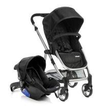 Carrinho Com Bebê Conforto Epic Lite Onyx - Travel System - Dorel