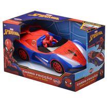 Carrinho com Boneco Homem Aranha à Fricção - Toyng -