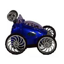 Carrinho Com Controle Remoto Turbo Spin Azul - DTC -