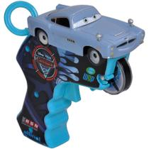 Carrinho com Lançador - Disney Cars 2 - Spin Wheels Finn McMíssil - Yellow -