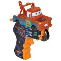 Carrinho com Lançador - Disney Cars 2 - Spin Wheels Mate - Yellow -