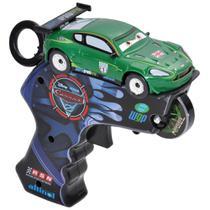 Carrinho com Lançador - Disney Cars 2 - Spin Wheels Nigel Marcha - Yellow -