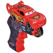 Carrinho com Lançador - Disney Cars 2 - Spin Wheels Relâmpago McQueen - Yellow -
