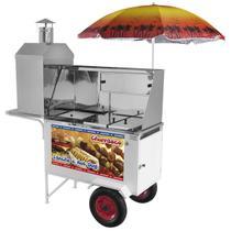 Carrinho Combinado 3x1 Churrasco Lanche Hot Dog Chlcl012 Armon -