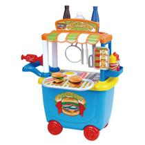 Carrinho Creative Fun Food Truck Hambúrger Br579 Multikids -