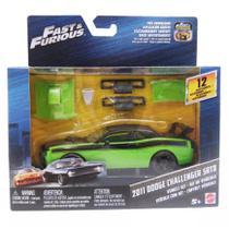 Carrinho Customizável Velozes e Furiosos Dodge Challenger - FCG48 - Mattel -