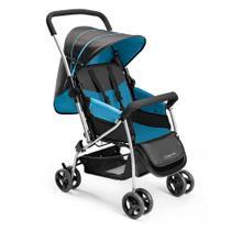 Carrinho De Bebê Berço Flip Azul Multikids Baby - BB503 -