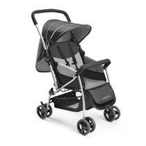 Carrinho de Bebê Berço Flip Cinza Bb505 Multikids Baby -