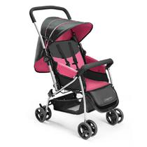Carrinho De Bebê Berço Flip Rosa Multikids Baby - BB504 - Multikidsbaby