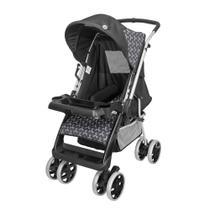 Carrinho de Bebê Berço/Passeio Thor Plus Preto New Tutti Baby -