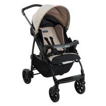 Carrinho de Bebê Burigotto Ecco Cappuccino IXCA2057 -