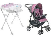 Carrinho de Bebê Burigotto Rio K - 15kg + Banheira de Bebê Burigotto Millenia