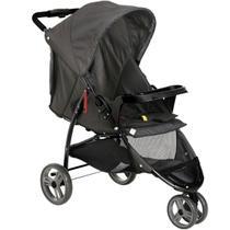 Carrinho de Bebê com 3 Rodas Função Passeio Berço Reclinável De Recem Nascido até 15kg Cross Trail - Galzerano -