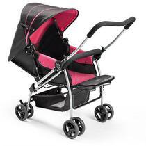 Carrinho De Bebê Flip Rosa Berço Multikids - Multikids Baby
