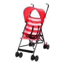 Carrinho De Bebê Guarda-Chuva Navy Multikids Baby Reclinável 20Kg -