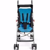 Carrinho de Bebê Guarda-Chuva - Pocket - Azul - Multikids -
