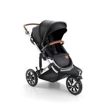 Carrinho de bebê jet 3 rodas preto - litet -
